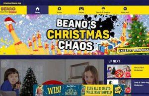 Beano Christmas Chaos Ad