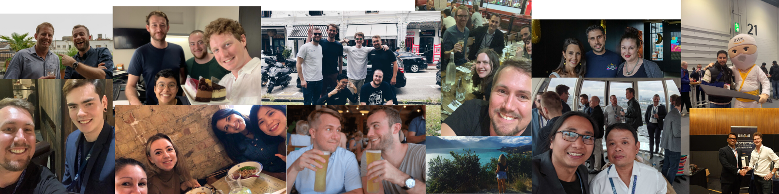 Montage of the JAM Team
