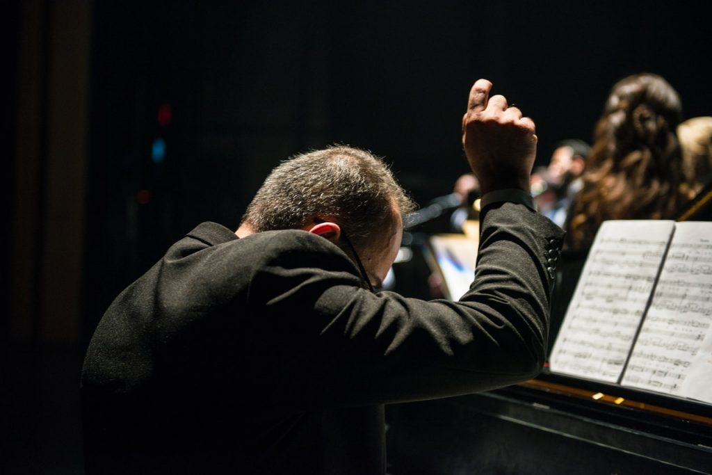 A music conductor